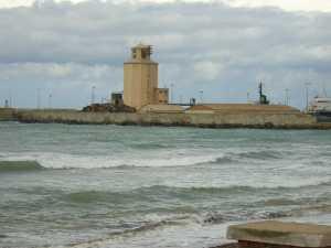 le Port vue de la plage