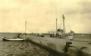 L'ancien Mole du port le premier quai d'accostage du port