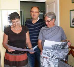 Septembre 2010 chez Alain DI MEGLIO ---- Annie DI MEGLIO Alain DI MEGLIO Gilbert LEVITA