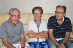 Septembre 2010 chez Alain DI MEGLIO ---- Gilbert LEVITA Lucienne DI MEGLIO Alain DI MEGLIO