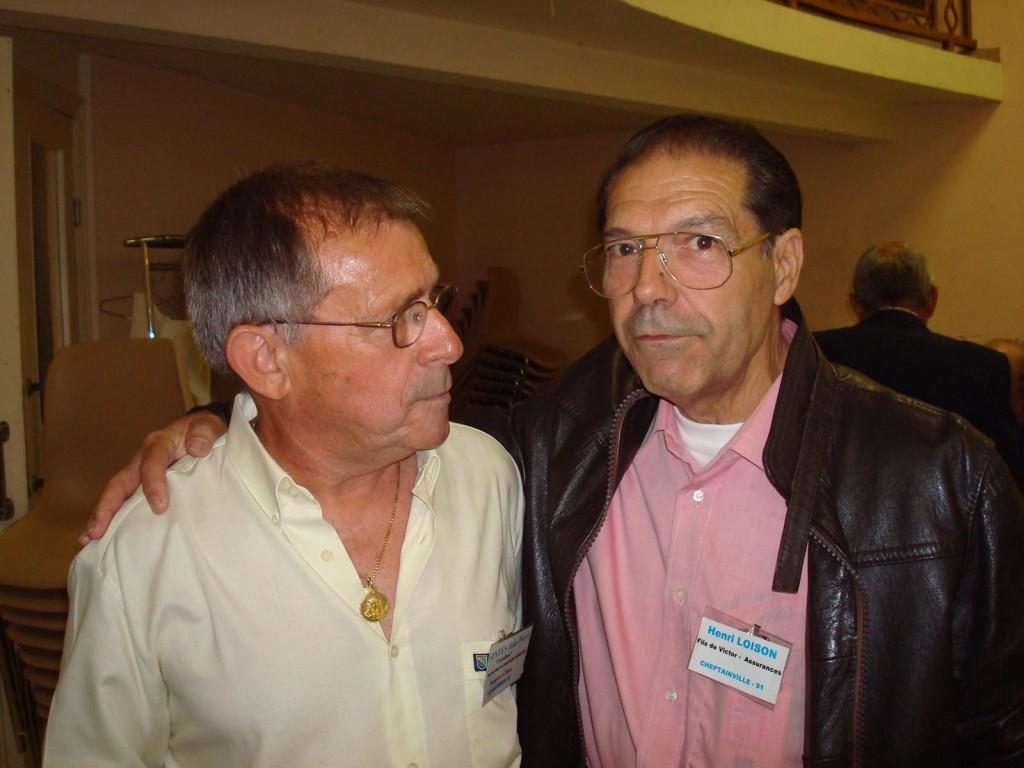 PINET 2008 ---- Jean Pierre SINTES Henri LOISON