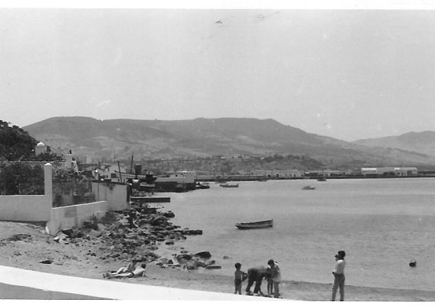 1961 Plage de la Villa Paulette