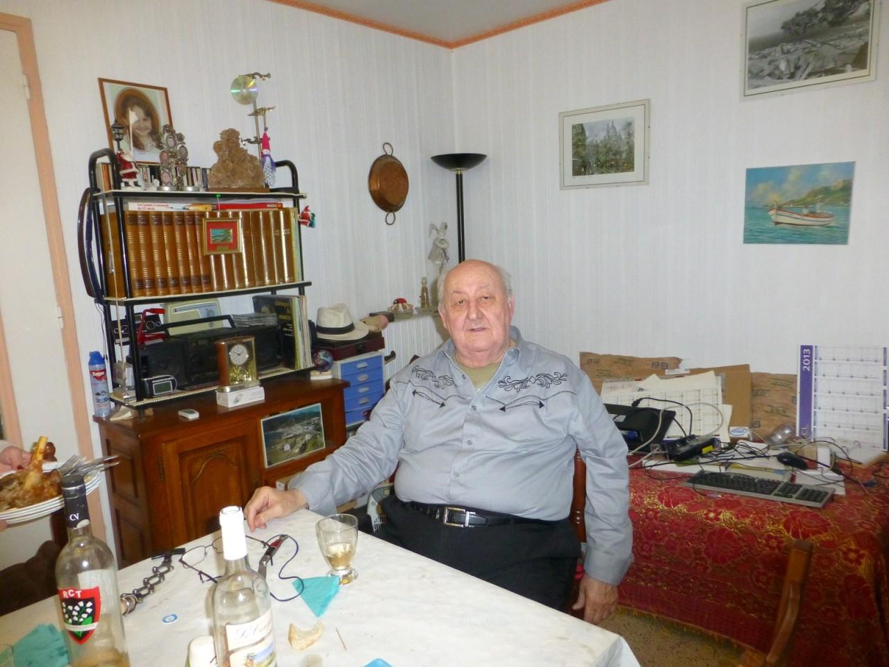 Marc LANGENDORF chez lui