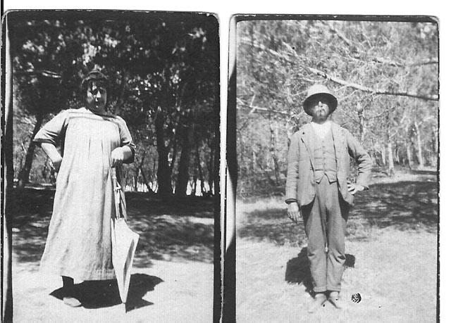 1920 - Marguerite et Louis XICLUNA