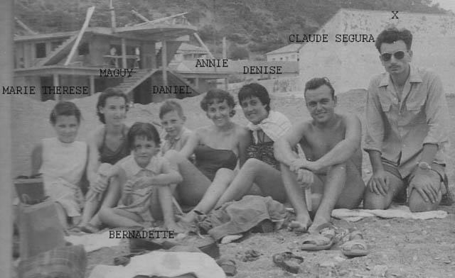 1952 - TENES la plage