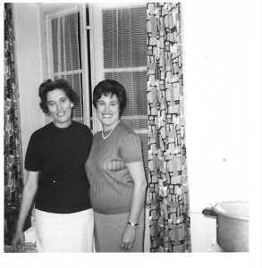 1963 - Clermont Ferrand Henriette MAFFRE Paulette LLINARES