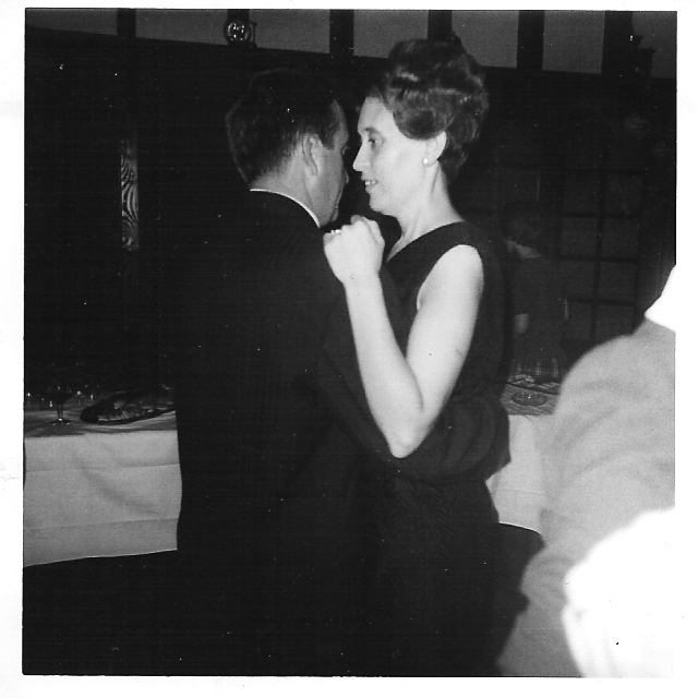 Julien MAZZIA et Henriette MAFFRE en 1964