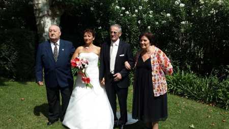 Marc LANGENDORF Fabienne LANGENDORF le mari de Fabienne : Jeannot JUNINO Anielka LANGENDORF ---- (Marc et Anielka ont eu 4 enfants: Odile, Jean-Luc, Fabienne et Denis)