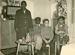 Famille MARIANI ---- Mme MARIANI M'Dou MARIANI Daniel WERY la fille MARIANI