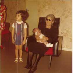 1975 - TOULOUSE Marie XICLUNA - 96 ans Chez Marguerite MARTIN