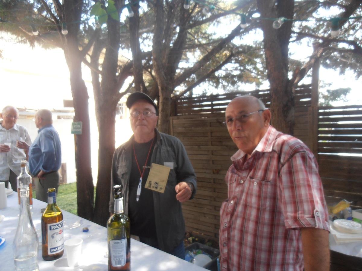 Le Bar : Eric CATHERINE Jacky CIXOUS ---- beaucoup de bliblis mais pas assez de Liminana !