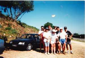 la famille MAZZELLA  en Gironde - 1966