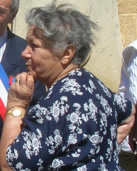 Paulette MAZZELLA Epouse JANTEL ---- 34 - TOURBES