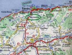 Carte Michelin de Montenotte