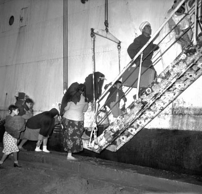 1962 - C'est l'Exode en France