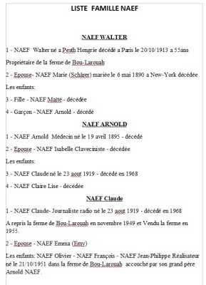 Famille NAEF