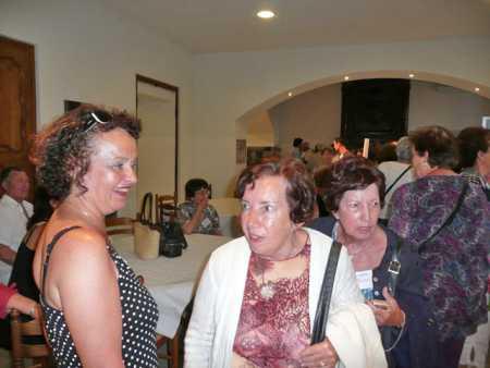 LA VIERE 2010 ---- Martine AUTHIE Paulette et Claudine ORFILA