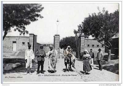 ORLEANSVILLE Porte de TENES