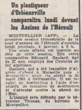 6 Janvier 1962 Edouard GAULARD