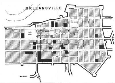 Plan d'ORLEANSVILLE ---- le site internet d'ORLEANSVILLE (cliquez ici)----
