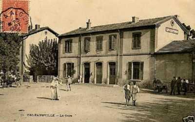 la Gare d'ORLEANSVILLE