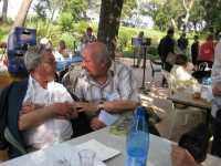 Gilbert ALBENTOSA en grande discussion avec  Marc LANGENDORF