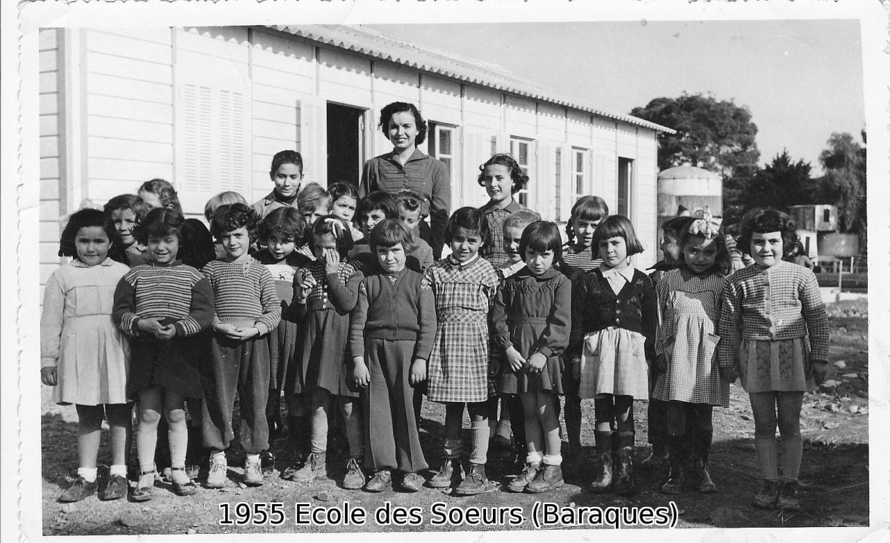 1955 - ORLEANSVILLE Ecole des Soeurs