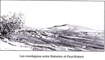 Montagnes entre RABELAIS et PAUL-ROBERT
