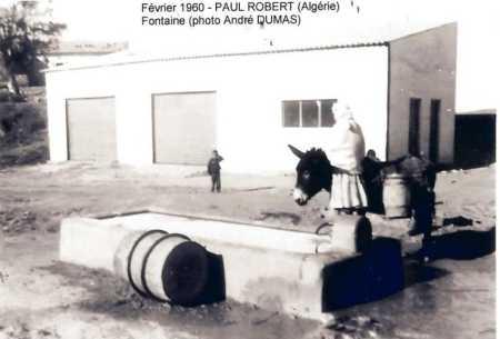 PAUL ROBERT - 1960 - la Fontaine