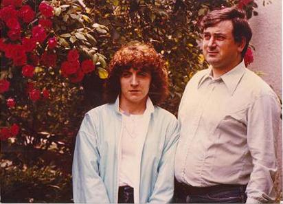 Jean-Paul PAYSSERAND et sa femme  peu avant qu'il nous quitte