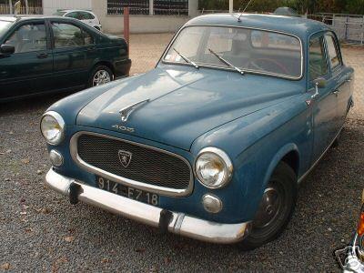 1963 - la 403 Peugeot
