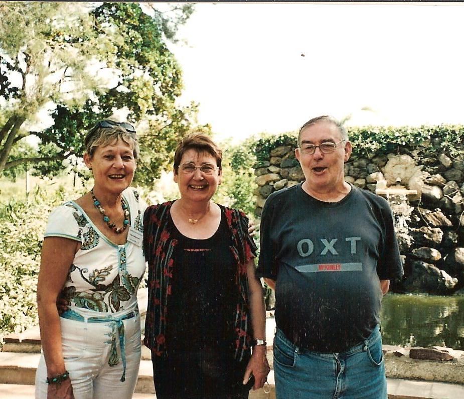Christiane CAMILLERI Joselyne VICIDOMINI Georges VICIDOMINI