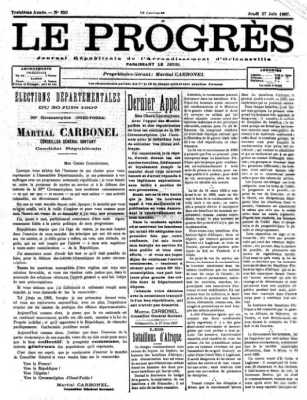 27-07-1907 - Le PROGRES