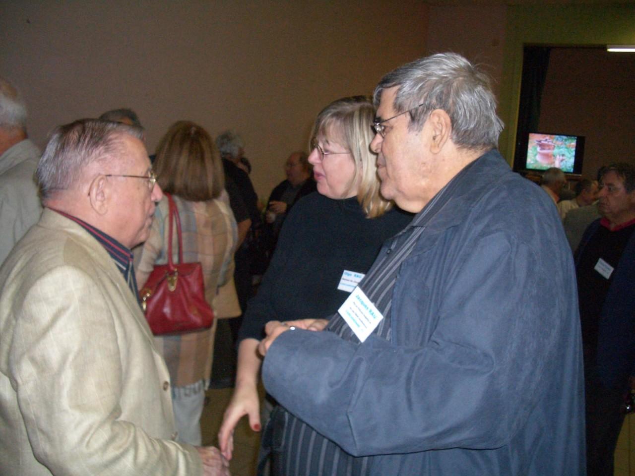 Georges SABATER Olga RAU Jacques RAU