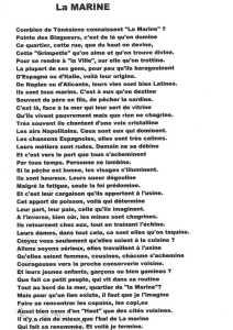 """LA MARINE"" ---- Lucien LUBRANO"