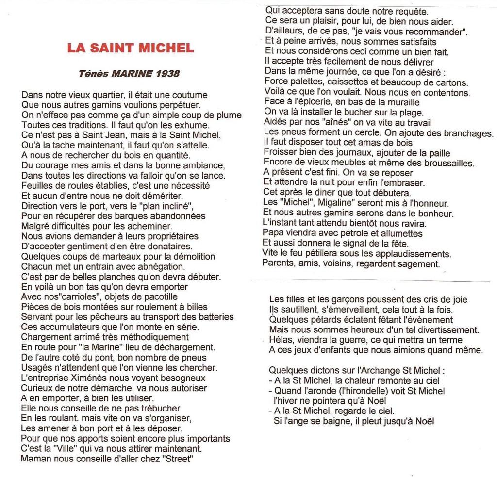 """La SAINT MICHEL"" ---- Lucien LUBRANO"