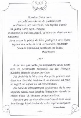 Photo-titre pour cet album: POEMES de Léon SALES