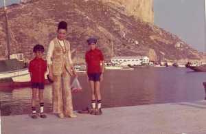 Odette ALBENTOSA 1970 - CALPE