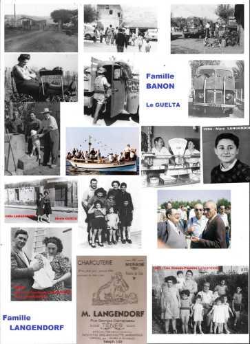 Familles  BANON & LANGENDORF