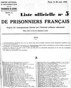 Photo-titre pour cet album: Prisonniers Ténésiens de 1940