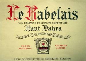 Photo-titre pour cet album:  RABELAIS  - AÏN MERANE   Mémoires de Jacky DEDEBANT