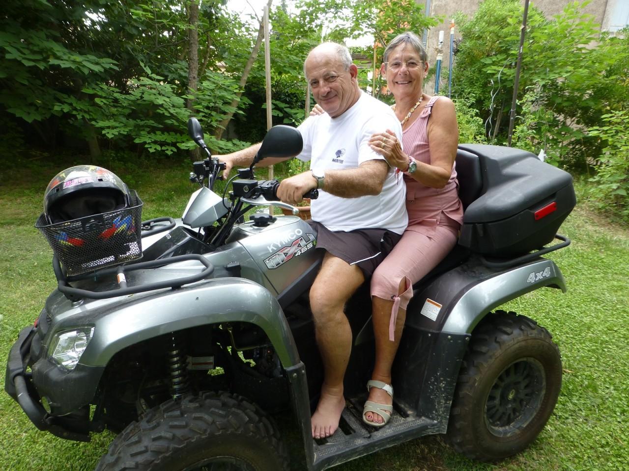 Daniel MANSION  et Christiane CAMILLERI