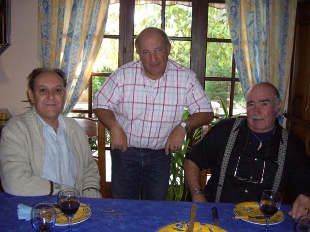 Pinet Novembre 2007 ---- Alain Di MEGLIO Daniel MANSION Marcel ROMEO