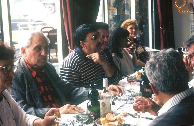 Mai 1999 Retrouvailles  chez Loulou XICLUNA