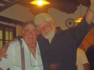 2010 - ISSANKA avec le patron de l'Auberge du Manoir