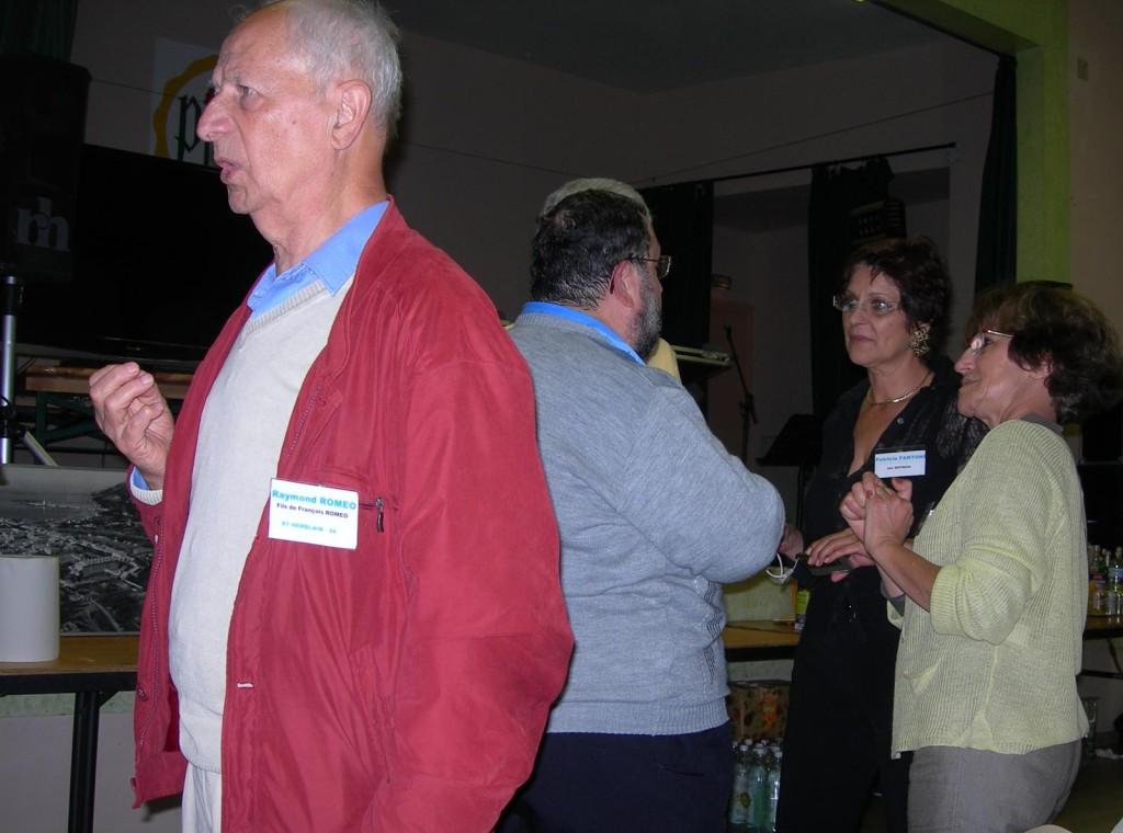PINET 2008 ---- Raymond ROMEO Patricia FANTONI Sylvie FEREDJ