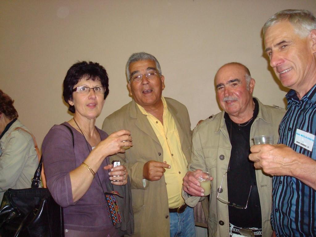 PINET 2008 ---- Marie Paule LANGENDORF Miloud HENNI Marcel ROMEO Alain GIRARD-MAYLIE