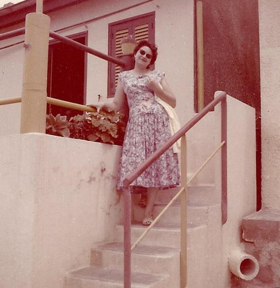 Mai 1958  Rose-Marie WERY Maison de la Marine