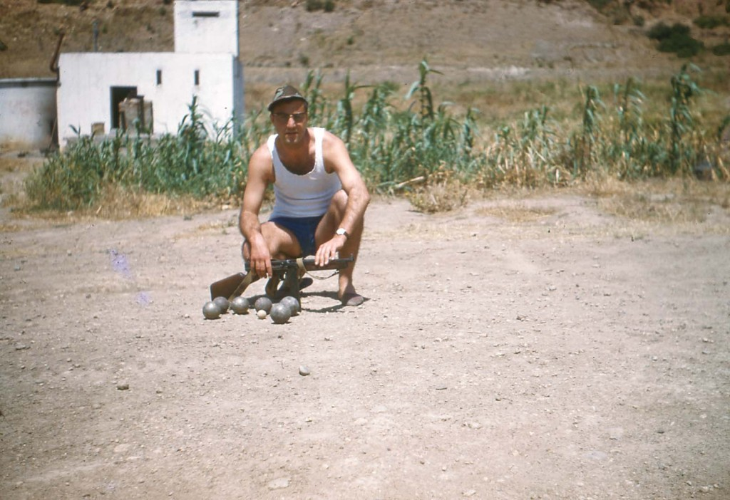 Guy ROSET Les Boules au Puits le 12 Juin 1960