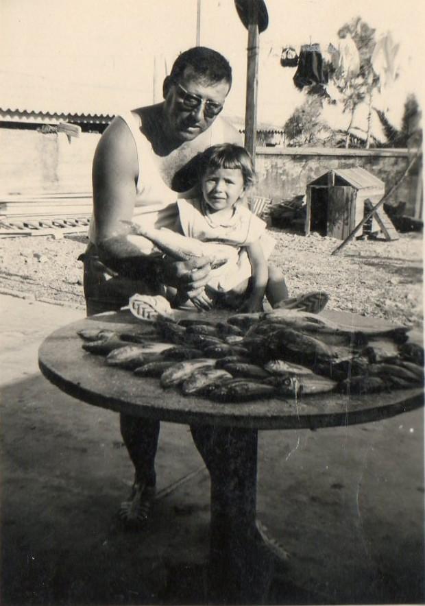 Jean-Pierre ALBENTOSA avec sa fille Marie-Laure ALBENTOSA